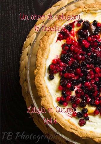 Un anno di colazioni: Le crostate by Letizia in Cucina - issuu