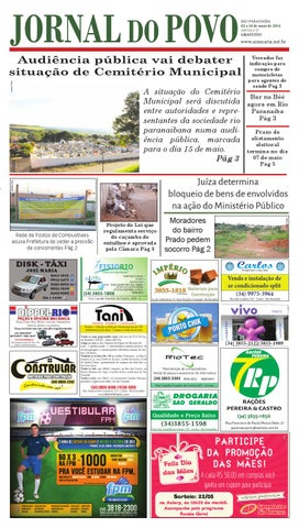 abe5e599e1a1b Jornal do Povo nº 27 by Araucária Comunicação e Editora - issuu