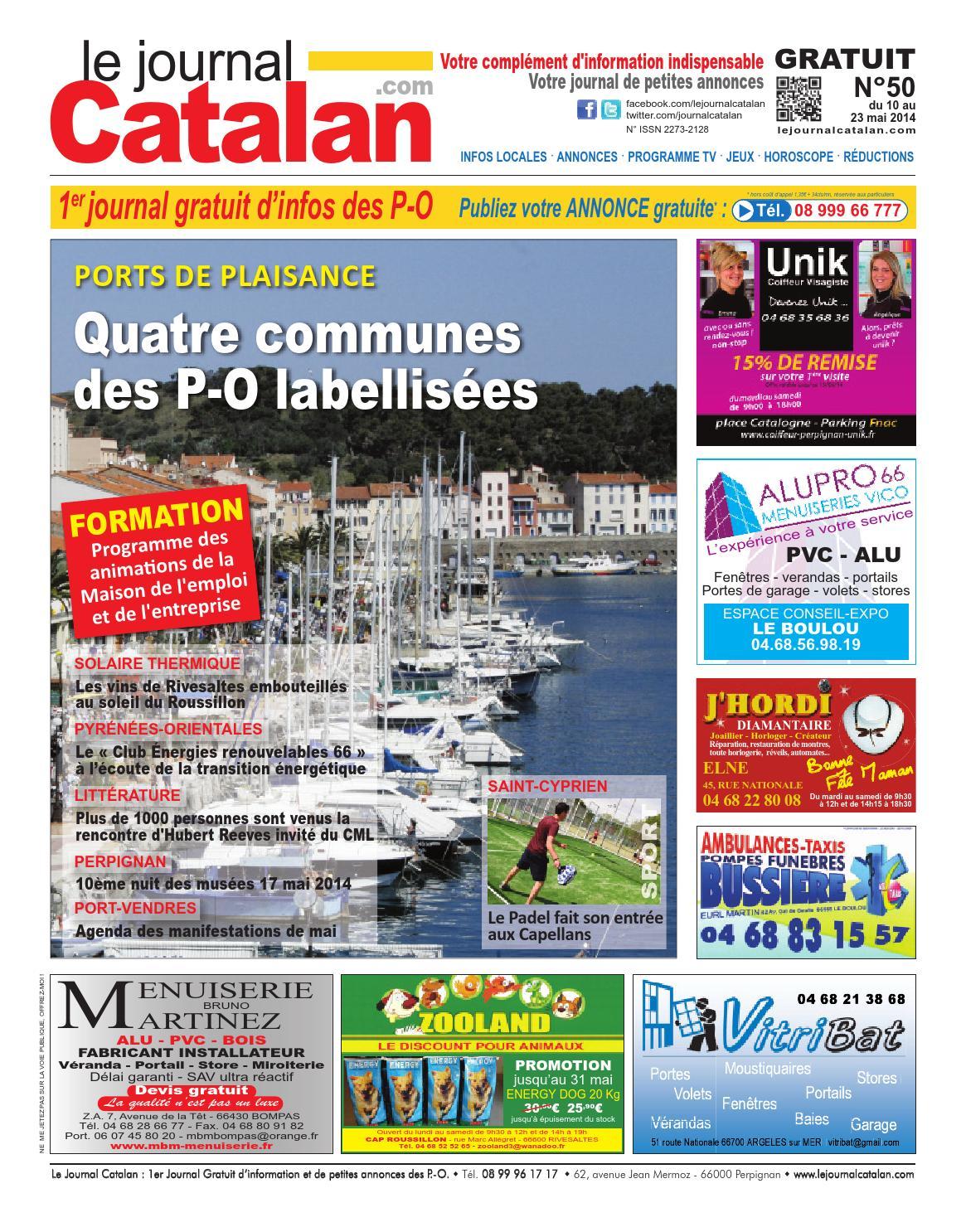 le journal catalan n 50 premier journal gratuit d 39 informations et de petites annonces des po by. Black Bedroom Furniture Sets. Home Design Ideas