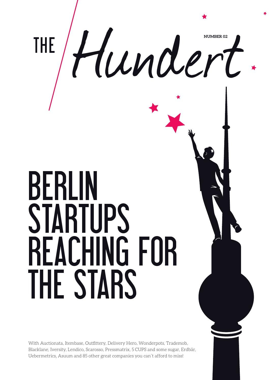 the Hundert Vol  2 - Berlin Startups reaching for the Stars