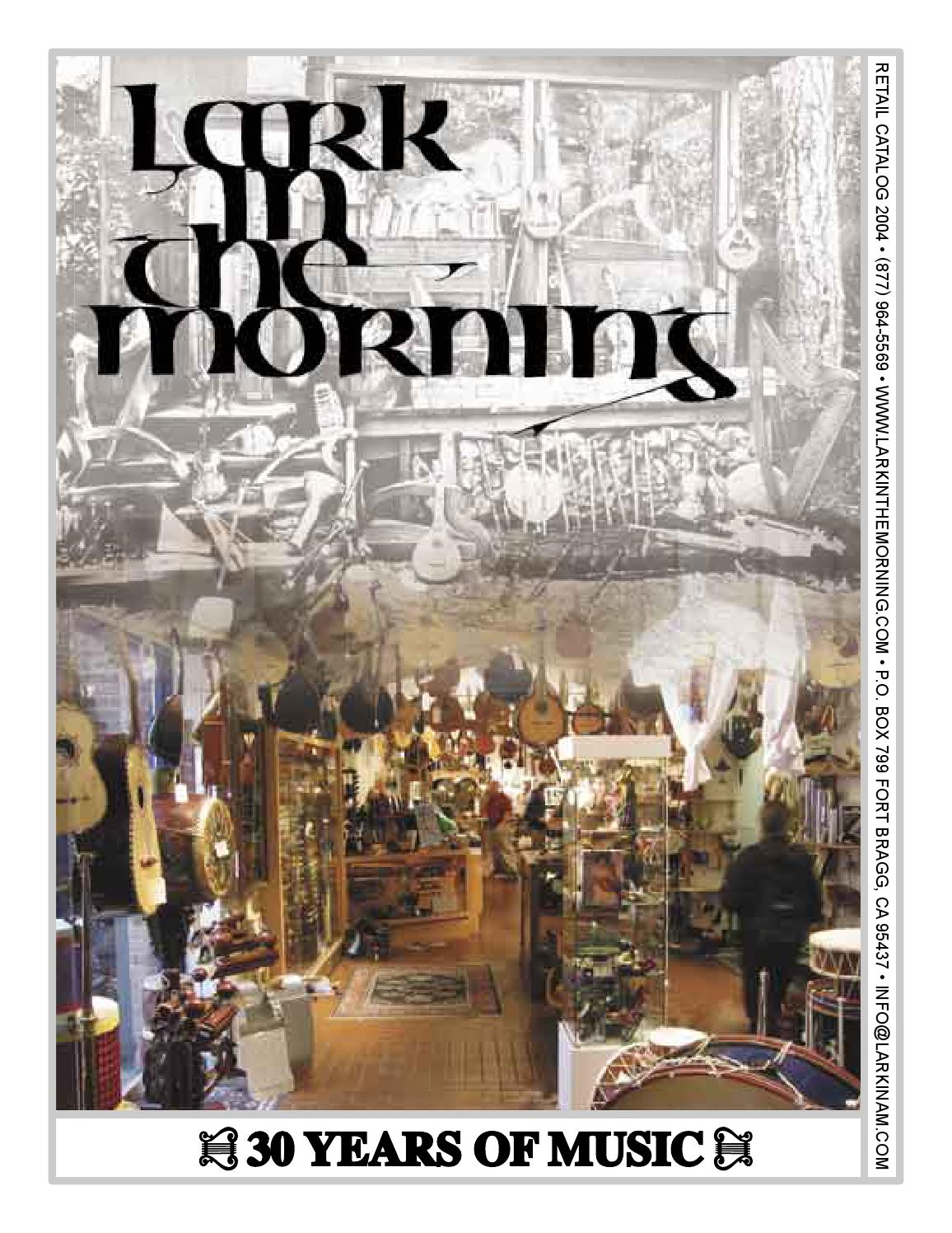 Lark In The Morning Retail Catalog 2004 by Lark In The Morning - issuu