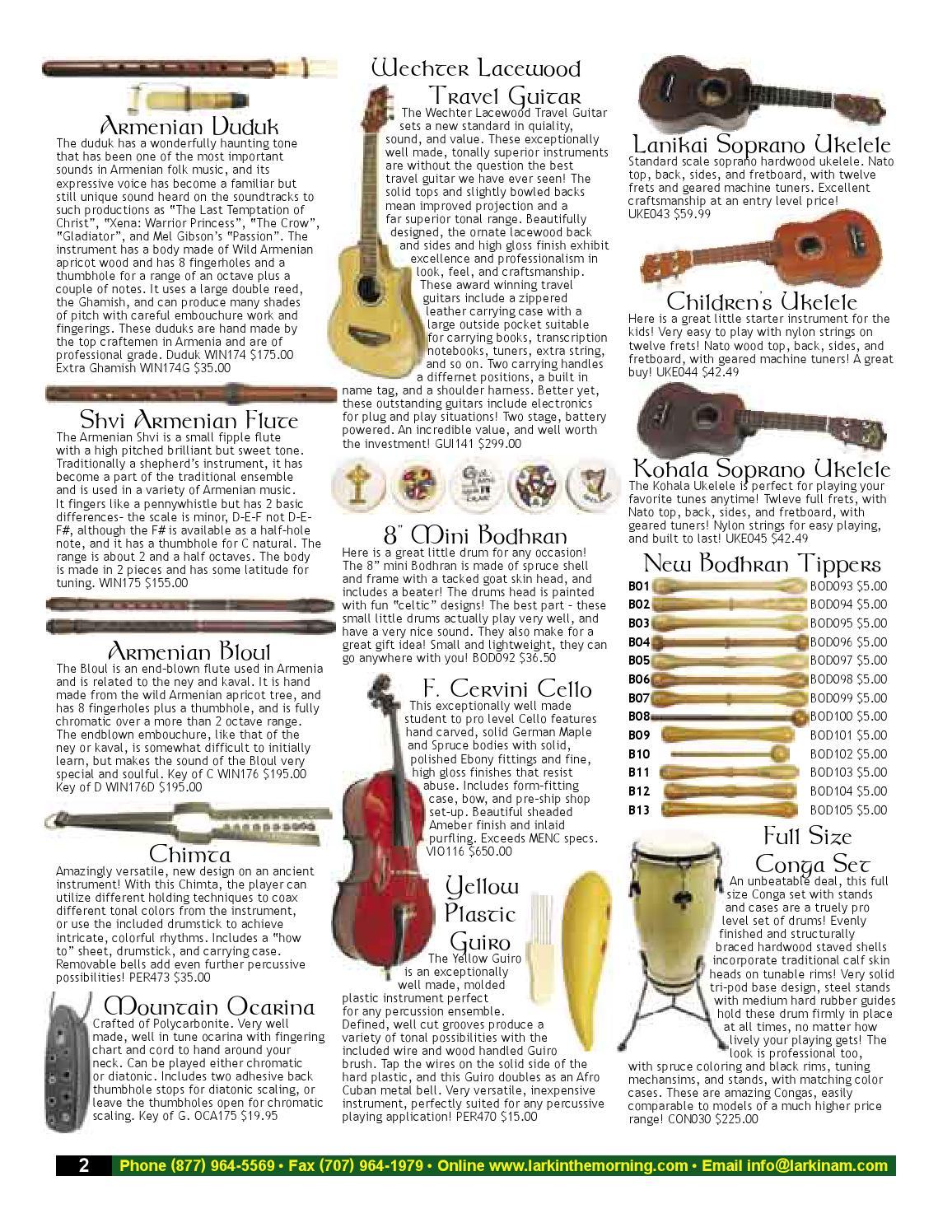 Lark In The Morning Retail Catalog 2004 by Lark In The