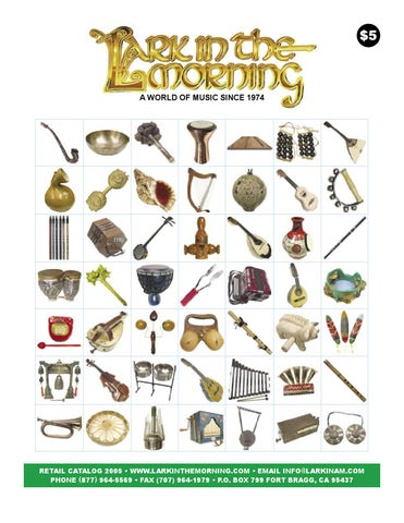 3e5b5cdfda50 Lark In The Morning Retail Catalog 2005 by Lark In The Morning - issuu