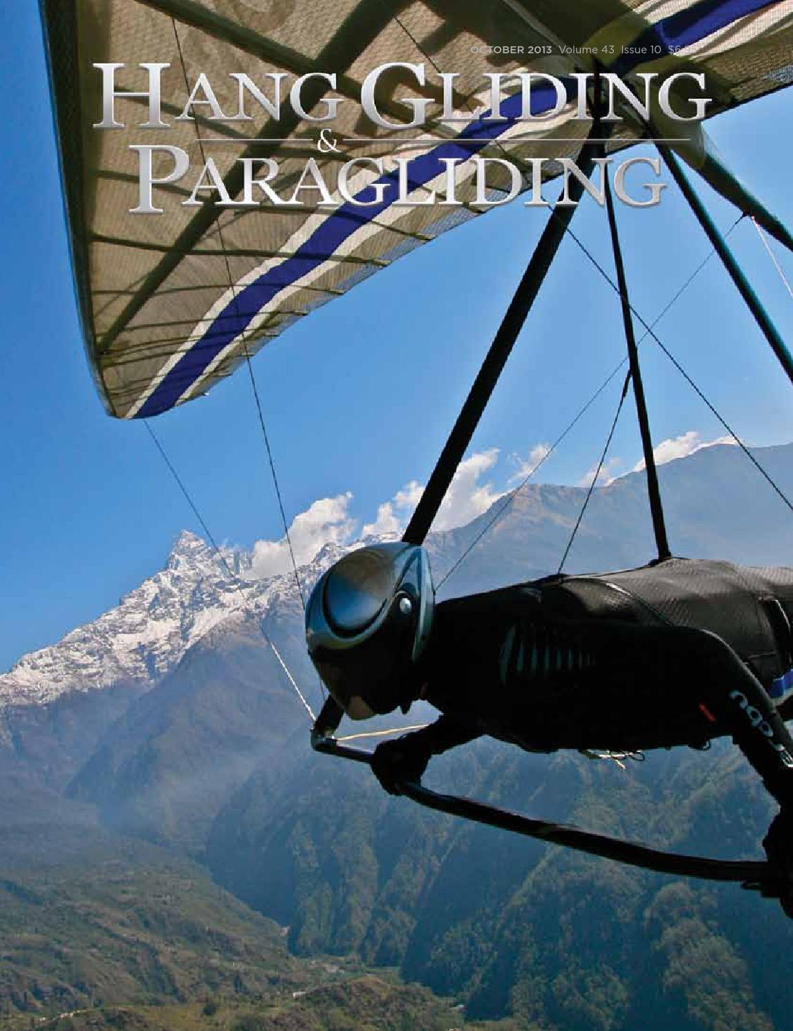 Hang Gliding & Paragliding Vol43/Iss10 Oct 2013 by US Hang Gliding