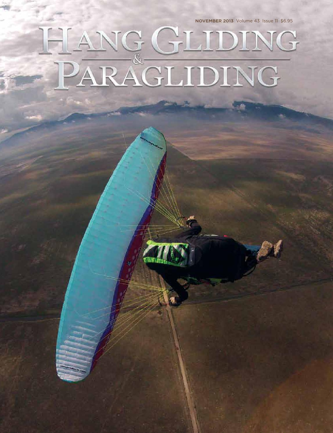 Hang Gliding & Paragliding Vol43/Iss11 Nov 2013 by US Hang