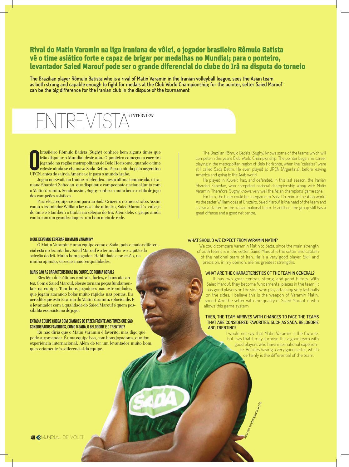 Revista Mundial de Clubes de Vôlei 2014 by Tecnologia Sempre Editora - issuu 607a191f51097