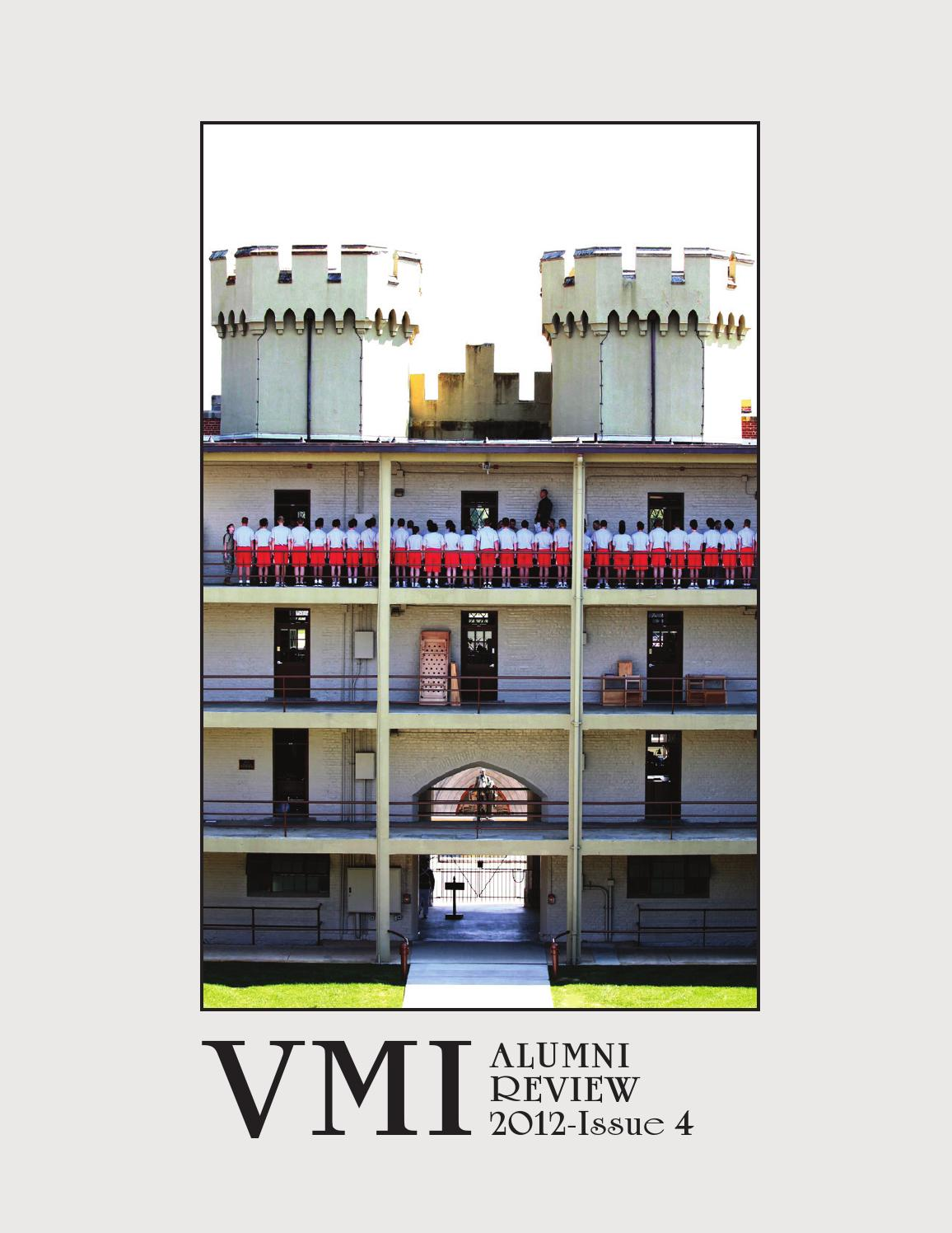 61afd9017ee Alumni Review 2012 Issue 4 by VMI Alumni Agencies - issuu