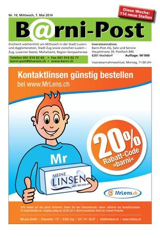 Barni-Post, Nr. 19, 07. Mai 2014 by Barni-Post AG - issuu