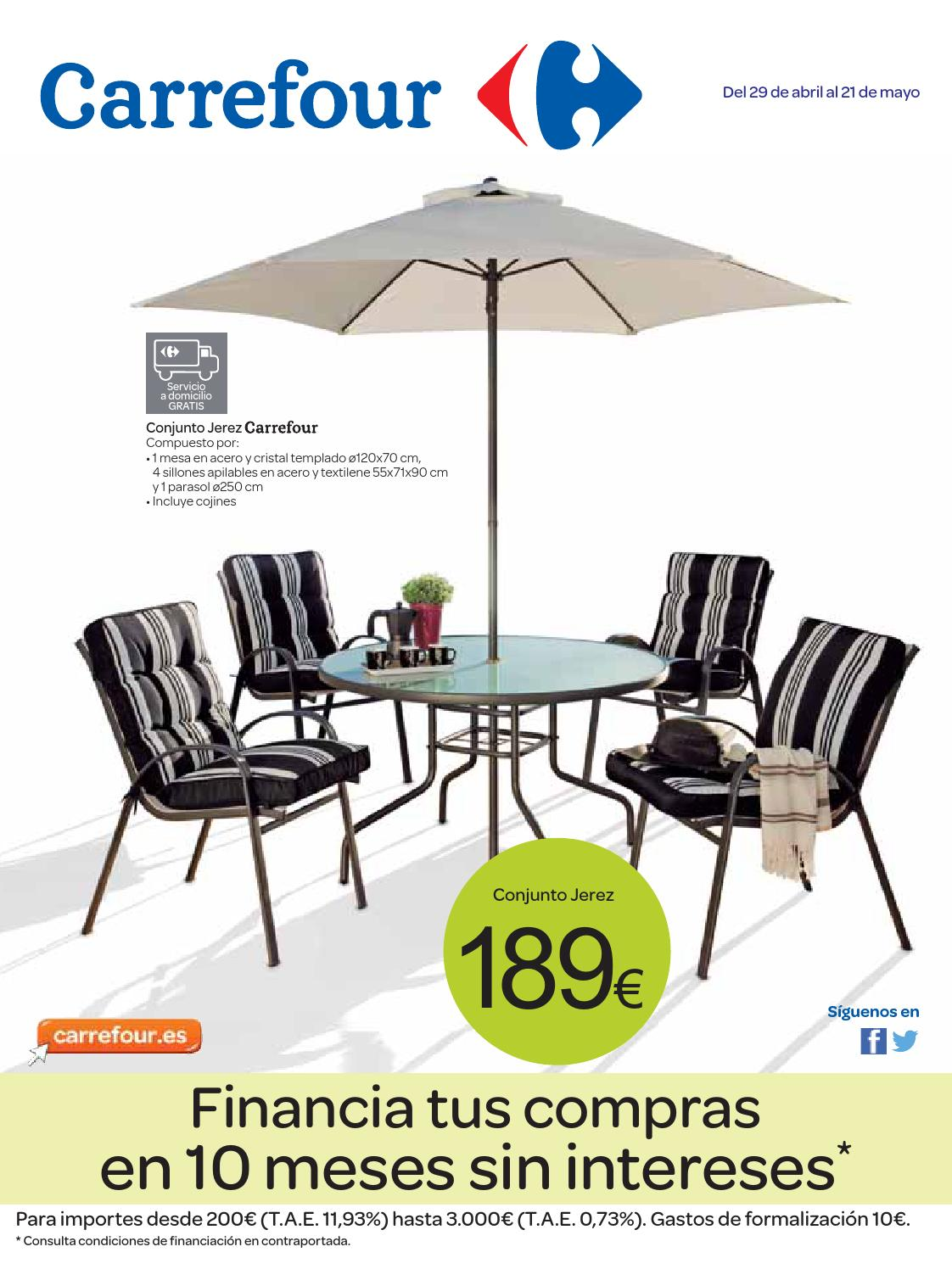 Catalogo carrefour online 2014 by carrefour online issuu for Sillas comedor carrefour