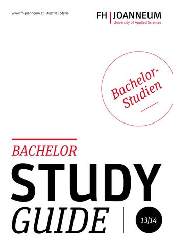 Study Guide - Bachelor by FH JOANNEUM - University of Applied ...