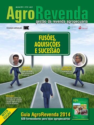 Revista AgroRevenda nº54 + Guia AgroRevenda 2014 by Grupo Publique ... d295334b55