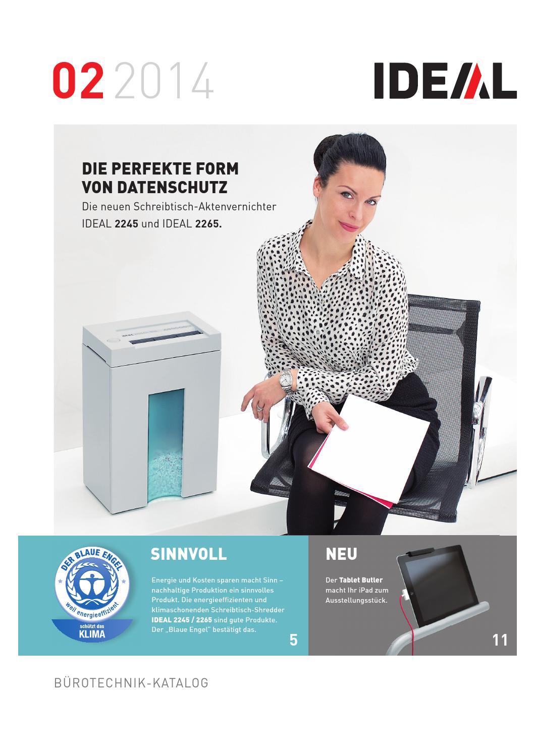 Ideal Buerotechnik Katalog By Germany Issuu 2245 4 Mm Paper Shredder