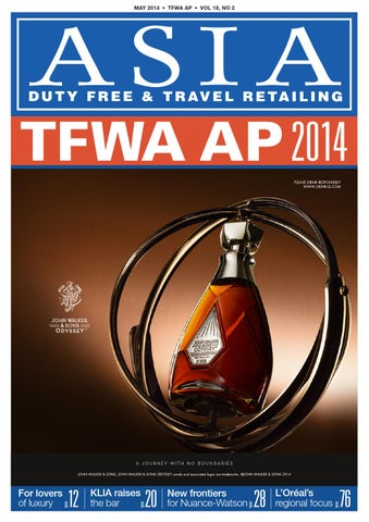 6d5ead8c4cc1 Asia Duty Free   Travel Retailing Magazine - TFAP May 2014 by Global ...