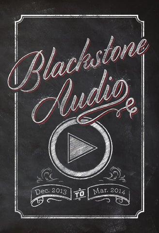 Blackstone Audio Product Catalog Dec 13 Mar 14 By Blackstone