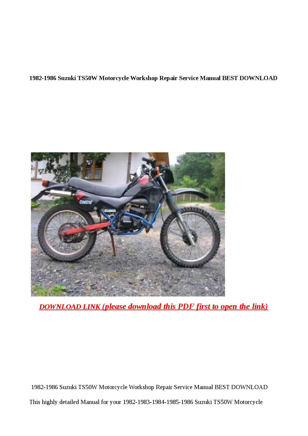 Suzuki outboard manuals free download