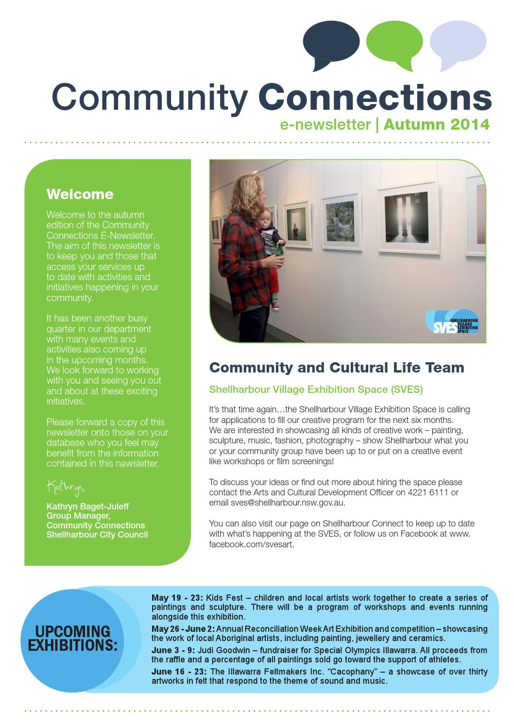 Community Connections Autumn 2014 by Shellharbour City