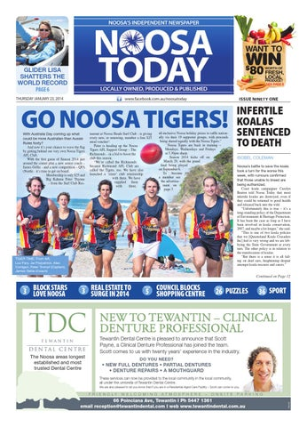 996f69a6c71 Noosa Today - 23rd January 2014 by Star News Group - issuu