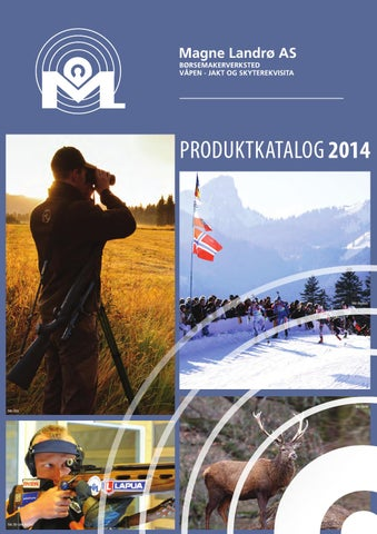 7a14086b Produktkatalog våpen jakt rekvisita 2014 by Promo Norge AS - issuu