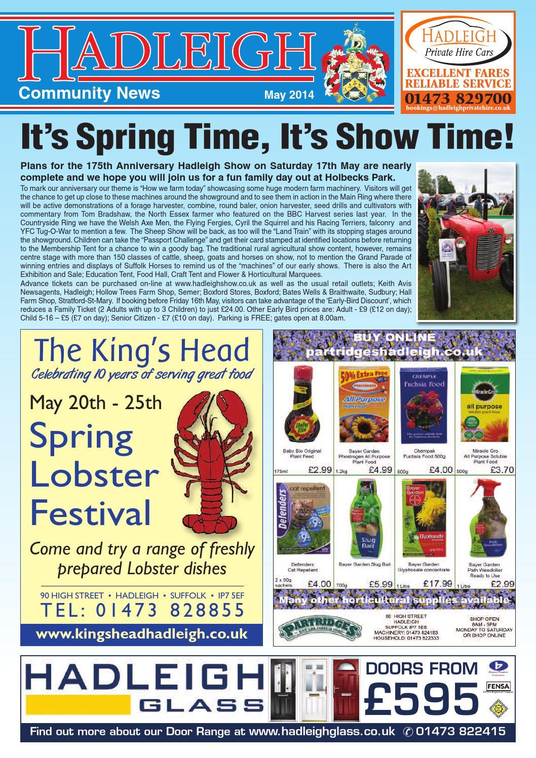 Hadleigh Community News, May 2014