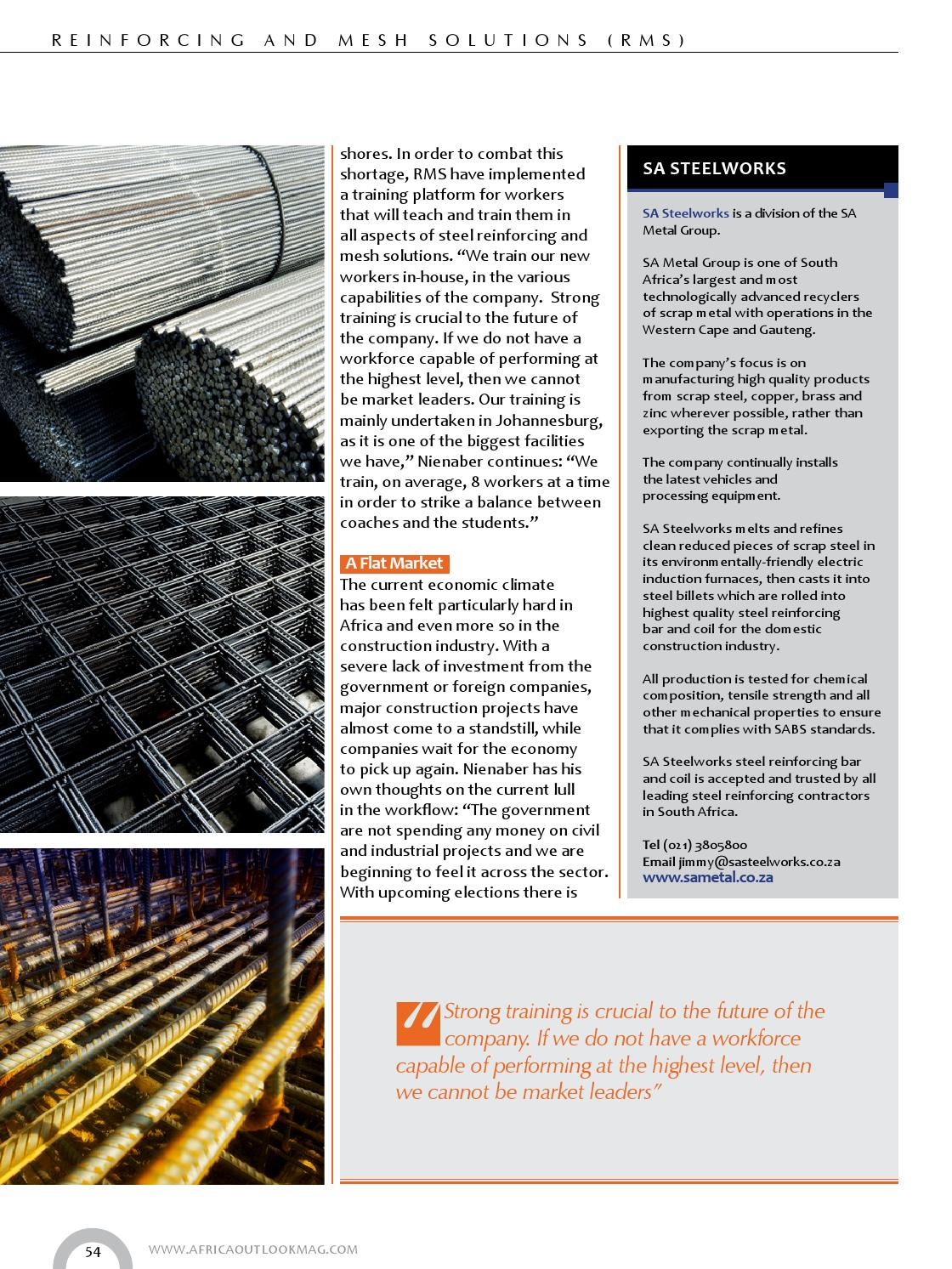 Africa Outlook Issue 14 by Outlook Publishing - issuu