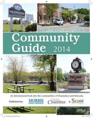 Channahon Minooka Community Guide 2014 By Shaw Media Issuu