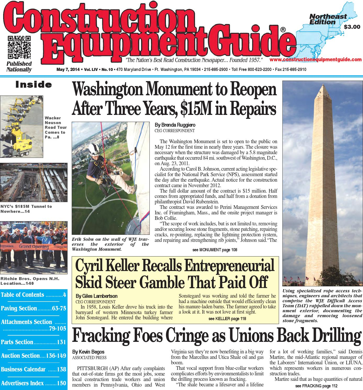 Northeast 10 2014 by construction equipment guide issuu fandeluxe Image collections
