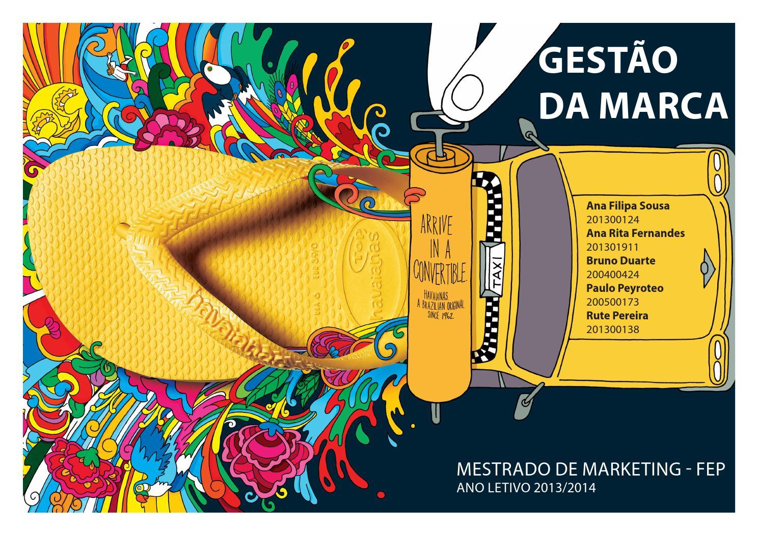 11ad1cdd7d GMCM - Relatório Havaianas by Rute Guimarães Pereira - issuu