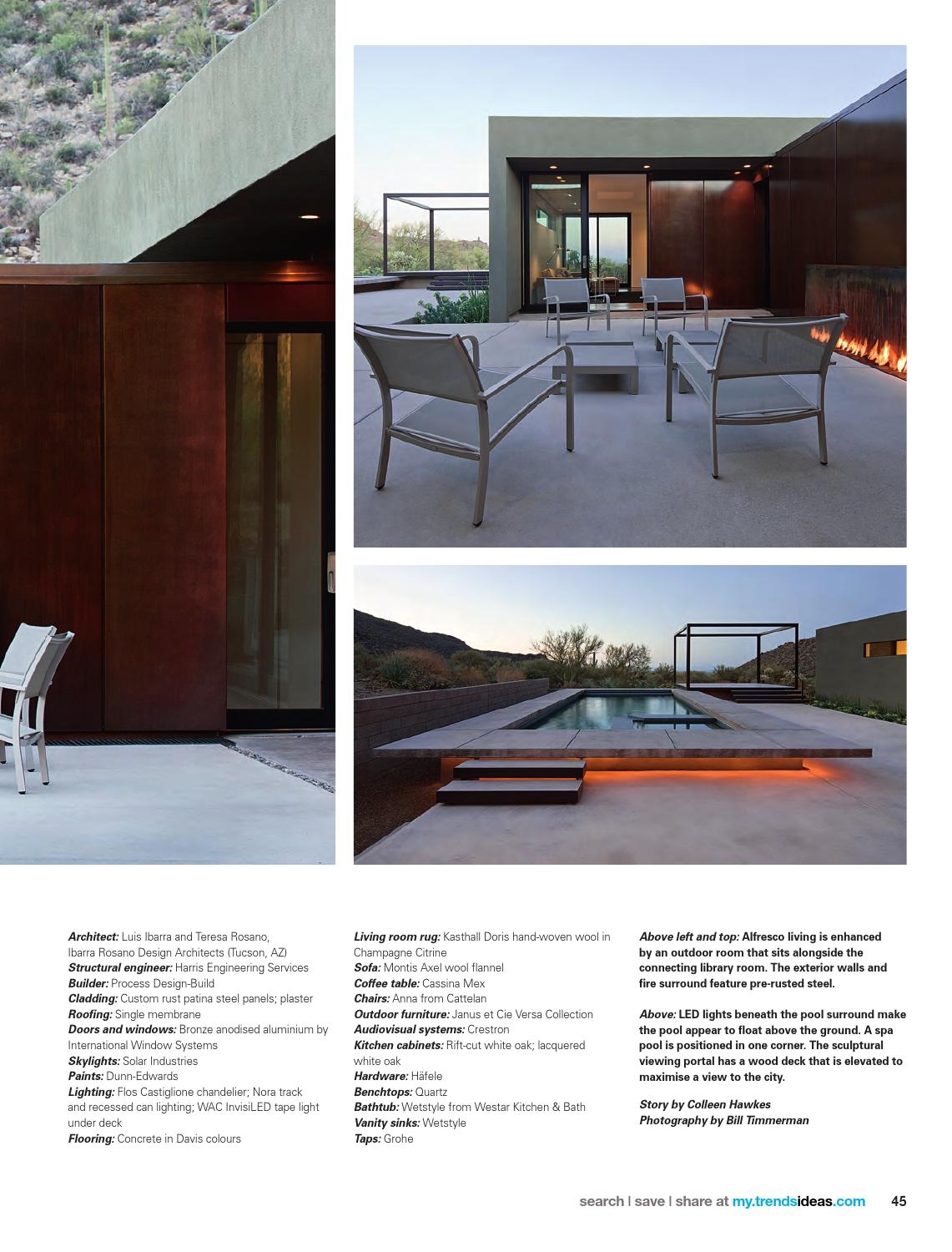 NEW HOME TRENDS New Zealand Vol 30/01 By Trendsideas.com   Issuu