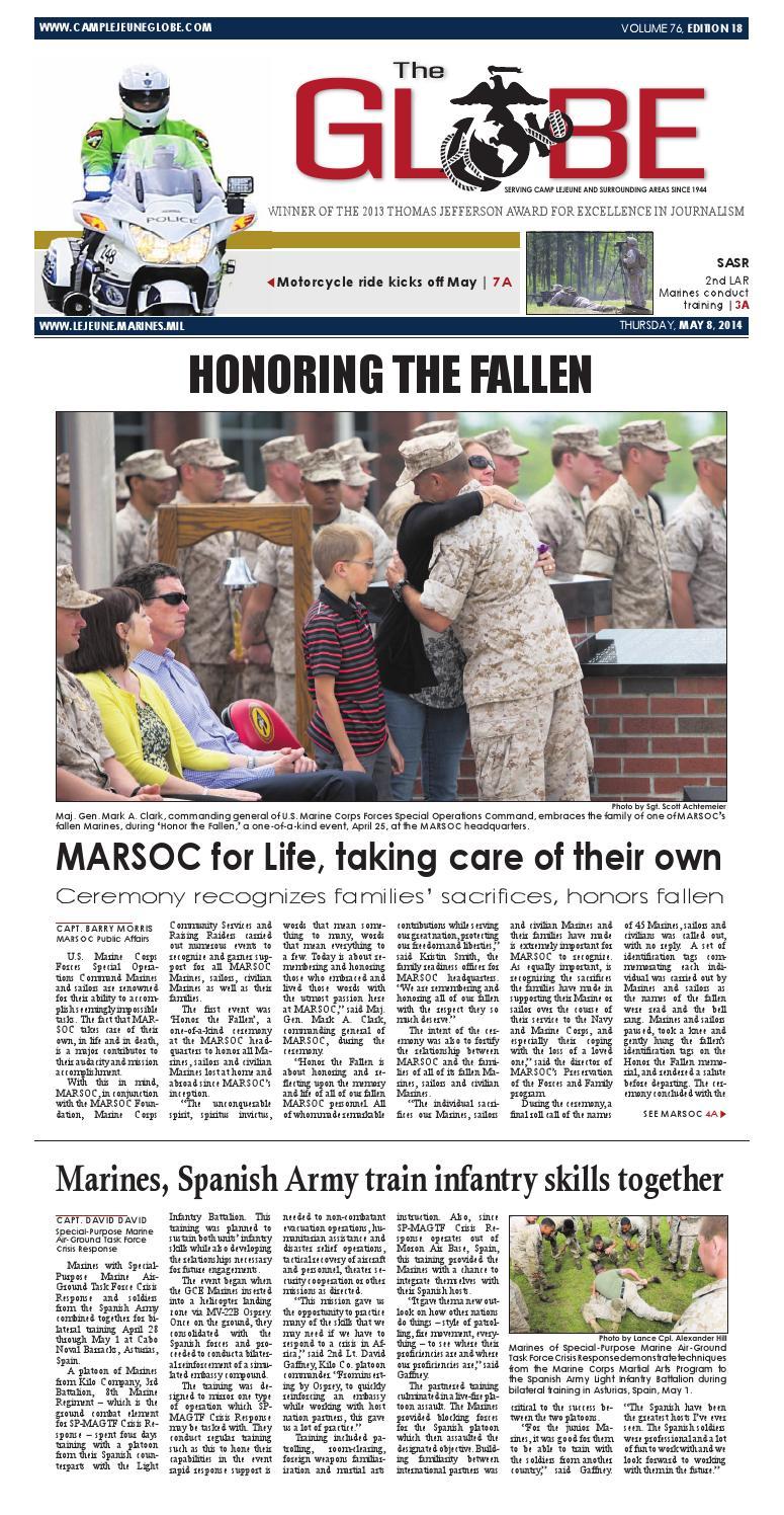 Globe 050814 by Military News - issuu