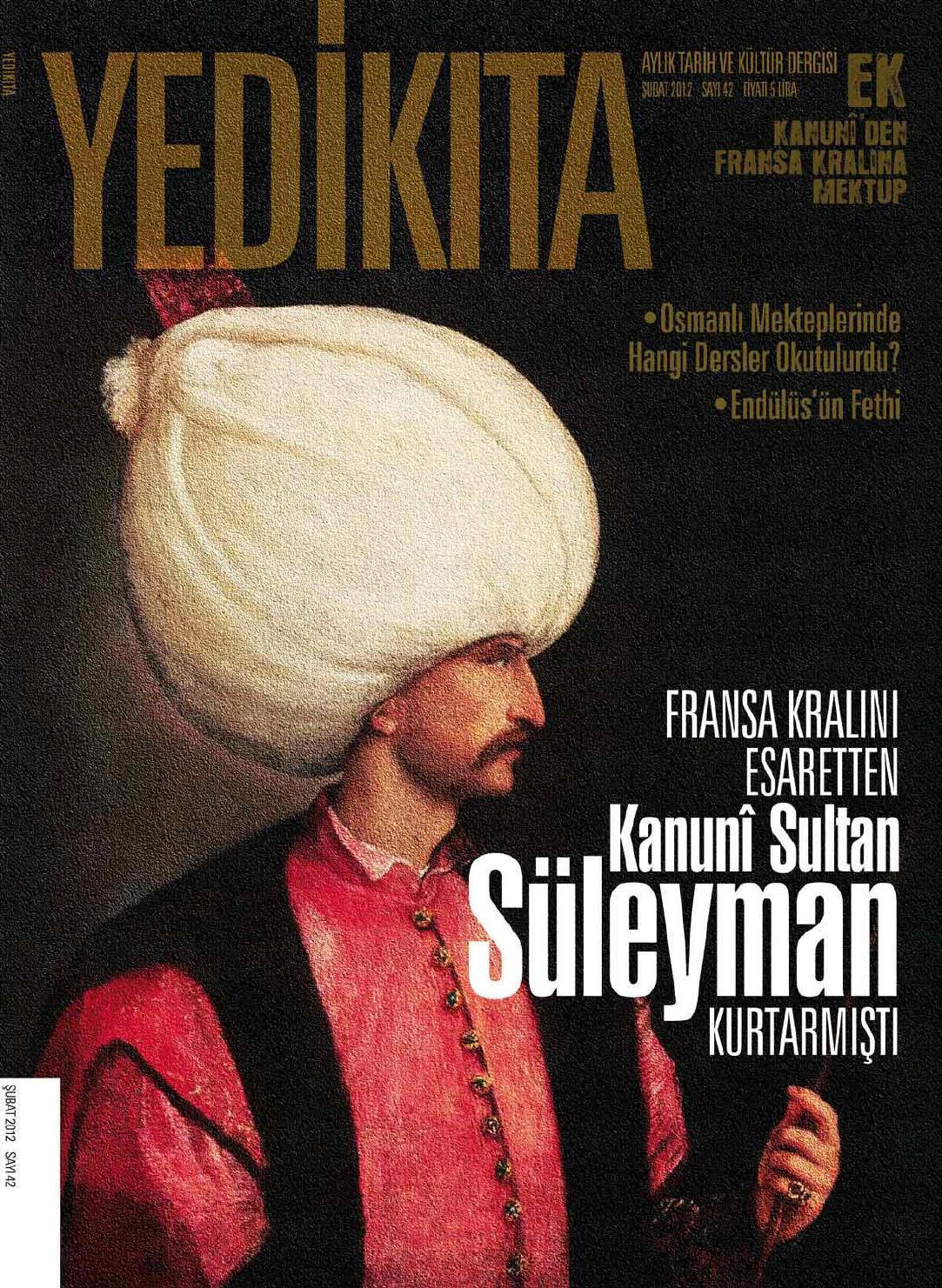 yedikıta tarih ve k252lt252r dergisi Şubat 2012 by selmank