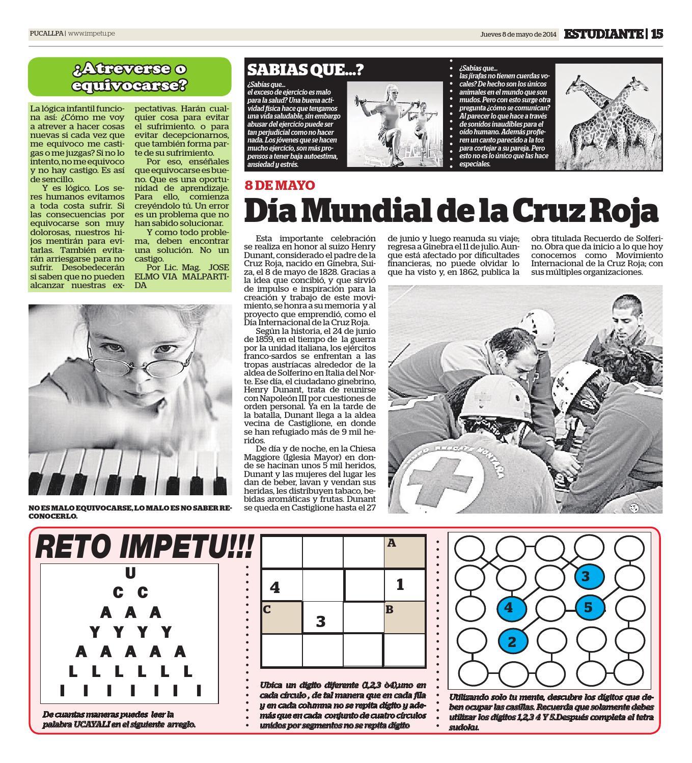 Impetu 08 de mayo de 2014 by Diario Ímpetu - issuu