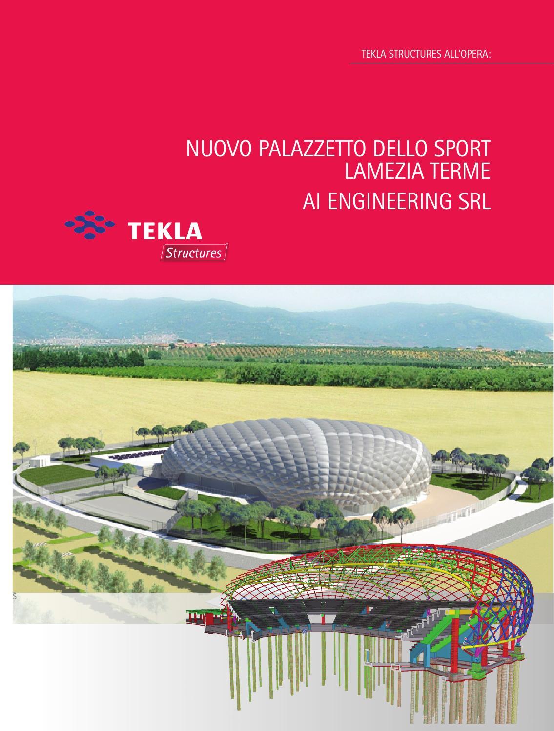 Nuovo Palazzetto Dello Sport Lamezia Terme Ai Engineering Srl By Harpaceas Issuu