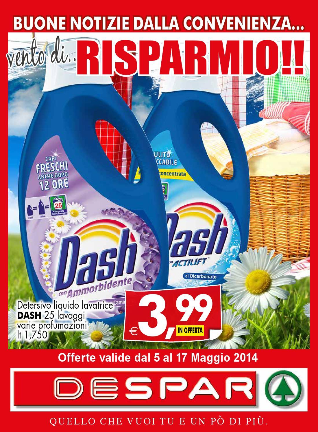 Volantino affiliati dal 5 al 17 maggio 2014 by despar for Volantino offerte despar messina