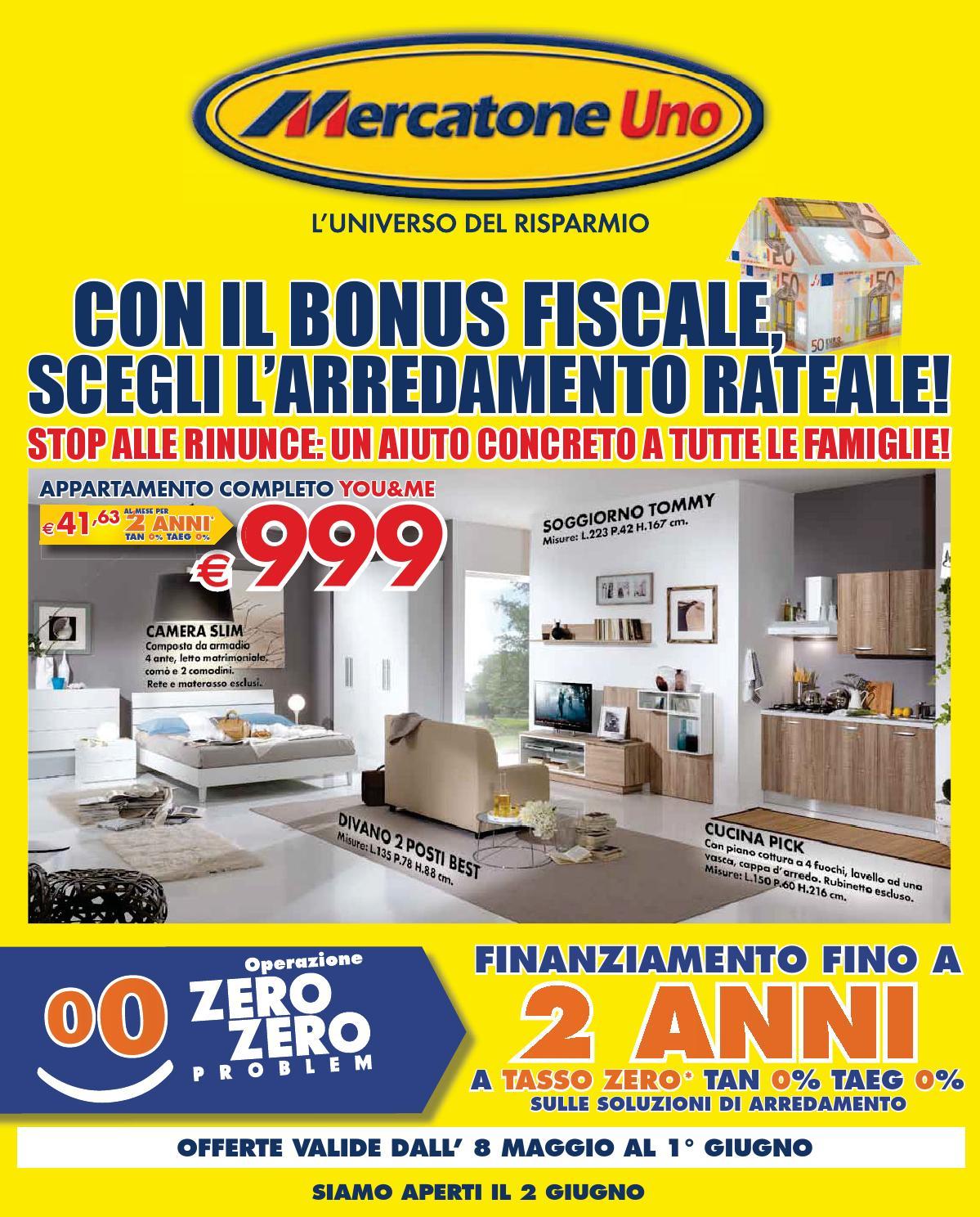 mercatoneuno bonus by mobilpro - issuu - Soggiorno Angolare Mercatone Uno 2