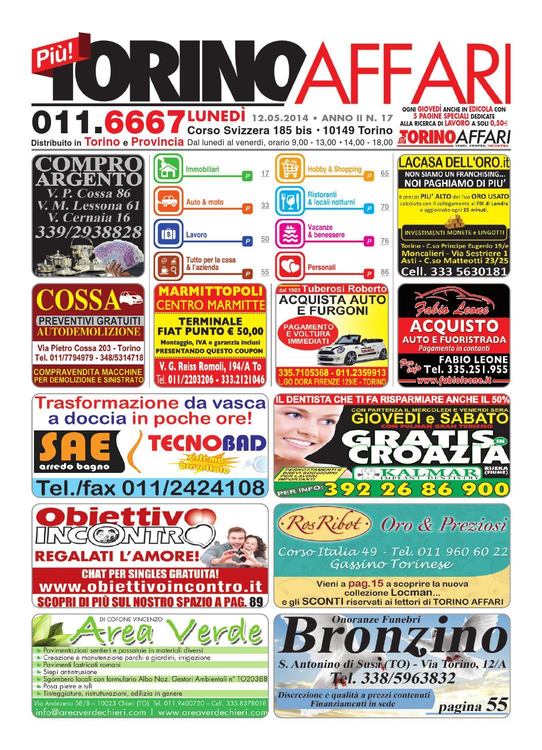 Sae Arredo Bagno Torino.Piu Torino Affari Ed Free 17 Del 12 05 2014 By Torino Affari Issuu