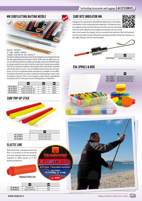 8mm Trabucco SURF POP-UP STICKS