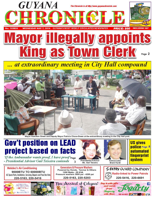 Guyana chronicle may 0...
