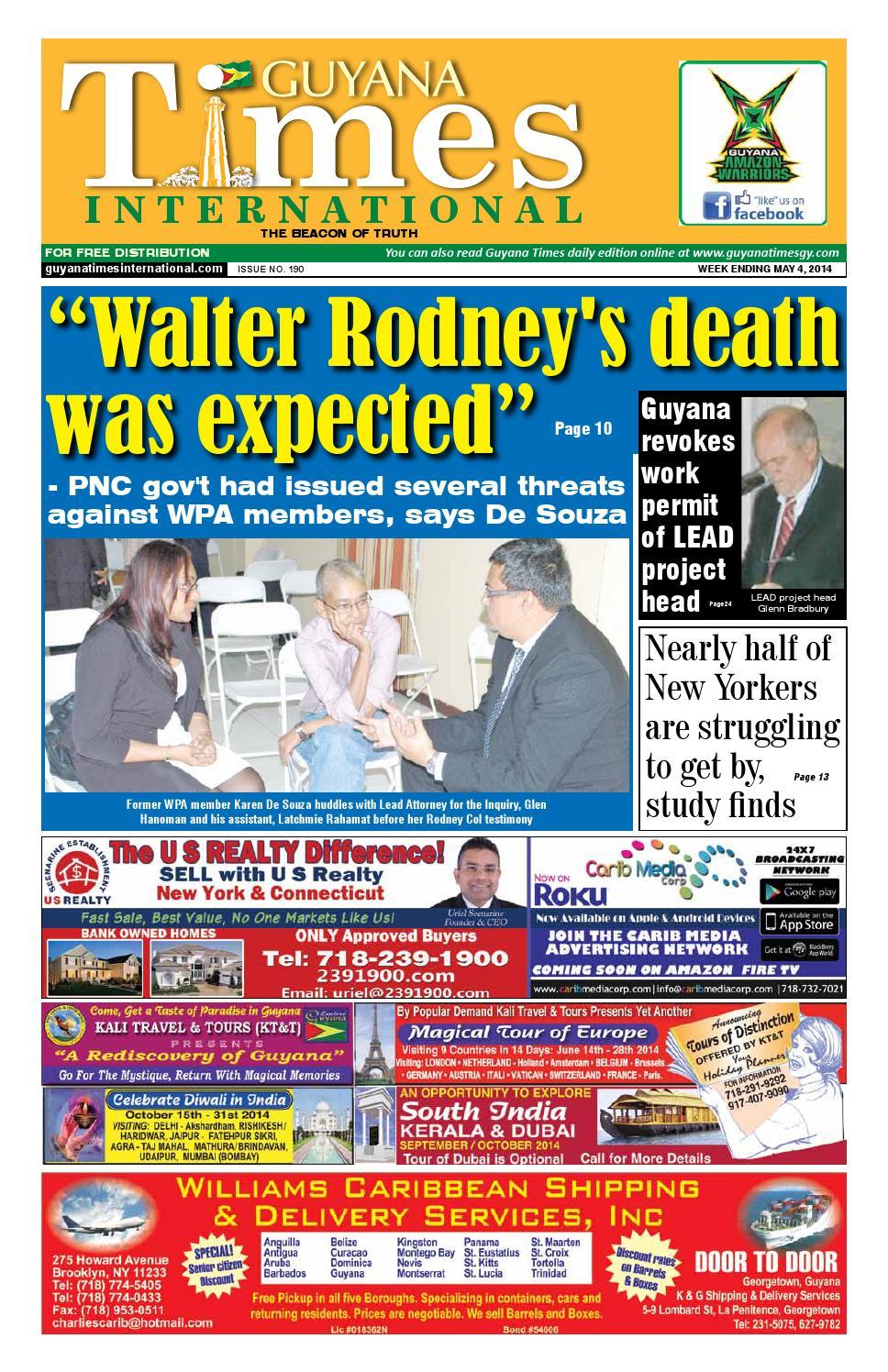 Guyana Times International by Gytimes - issuu