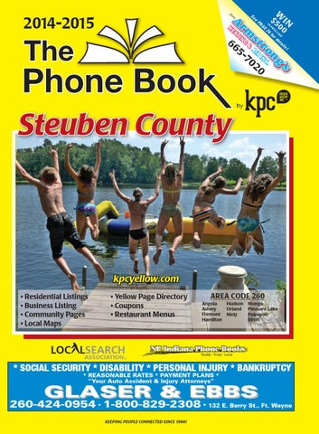 9bea2edd4e9 Steuben County Yellow Pages 2014 by KPC Media Group - issuu