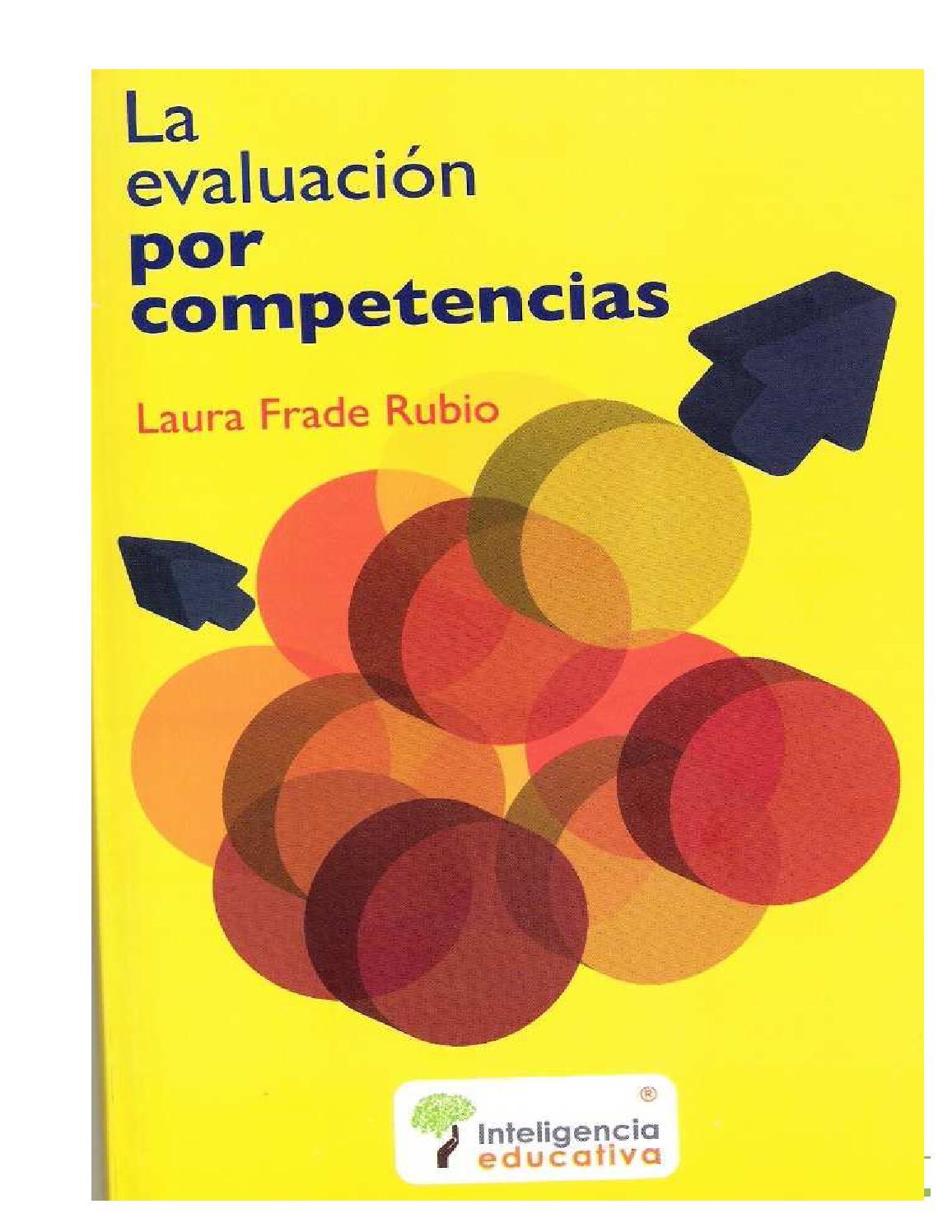 Laura frade rubio la evaluacion basada en competencias by Luis ...