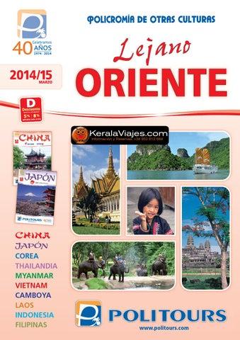 8ad2295ab5d5 Politours y Kerala Viajes Lejano Oriente 2014 by Kerala Viajes - issuu