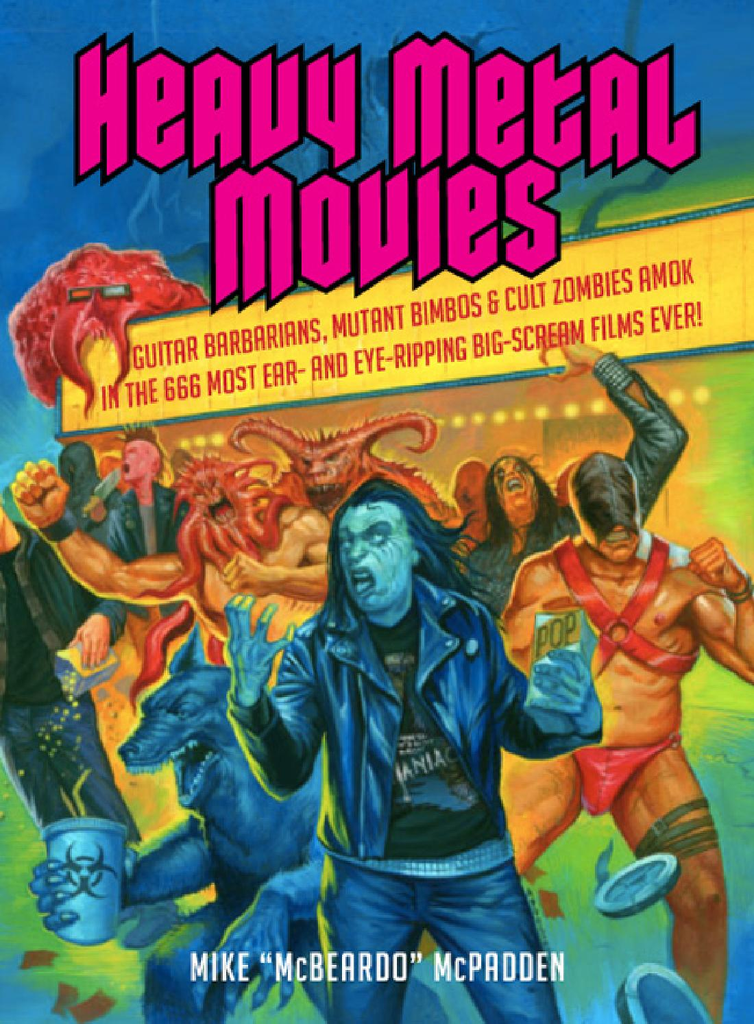 Heavy Metal Movies Uncorrected Page Samples By Bazillion Points