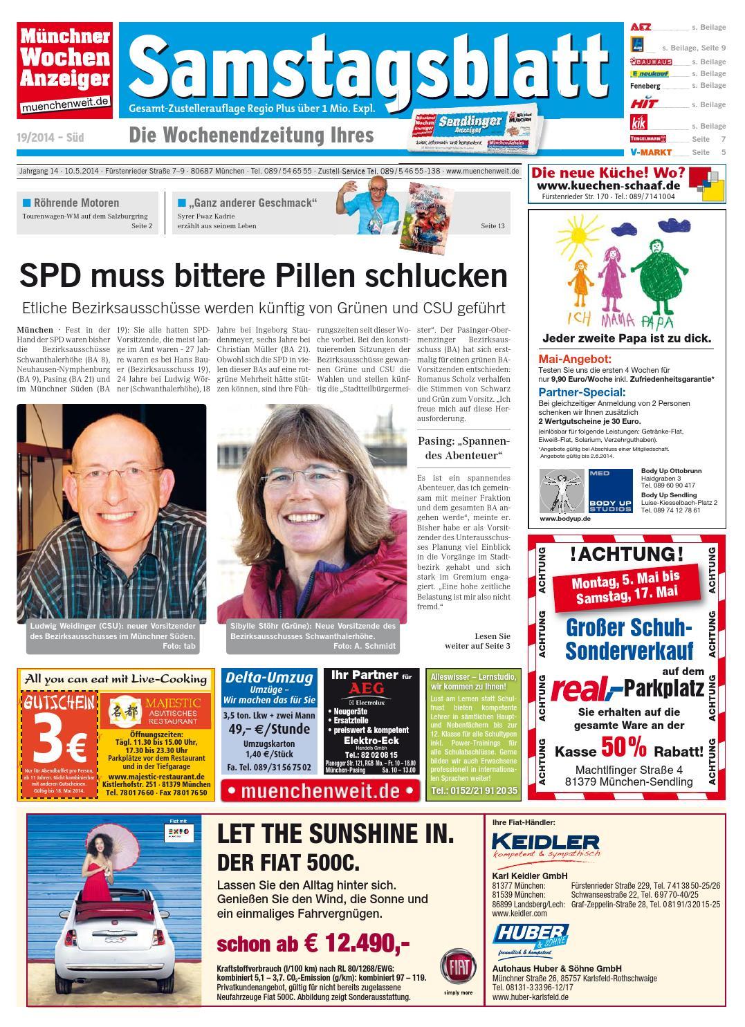 KW 19-2014 by Wochenanzeiger Medien GmbH - issuu