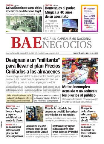 8b2ee5b4aed DiarioBAE-2014-05-09 by Grupo Crónica - issuu