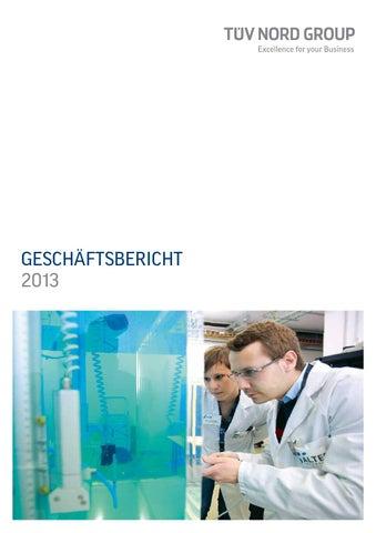 TÜV NORD GROUP Geschäftsbericht 2013 by TÜV NORD GROUP - issuu