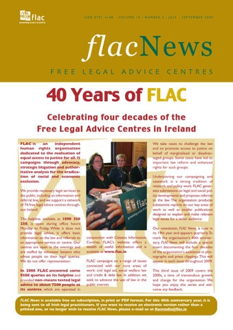 Flac news 19 3 julsep 09 by flac access to justice issuu page 1 malvernweather Choice Image