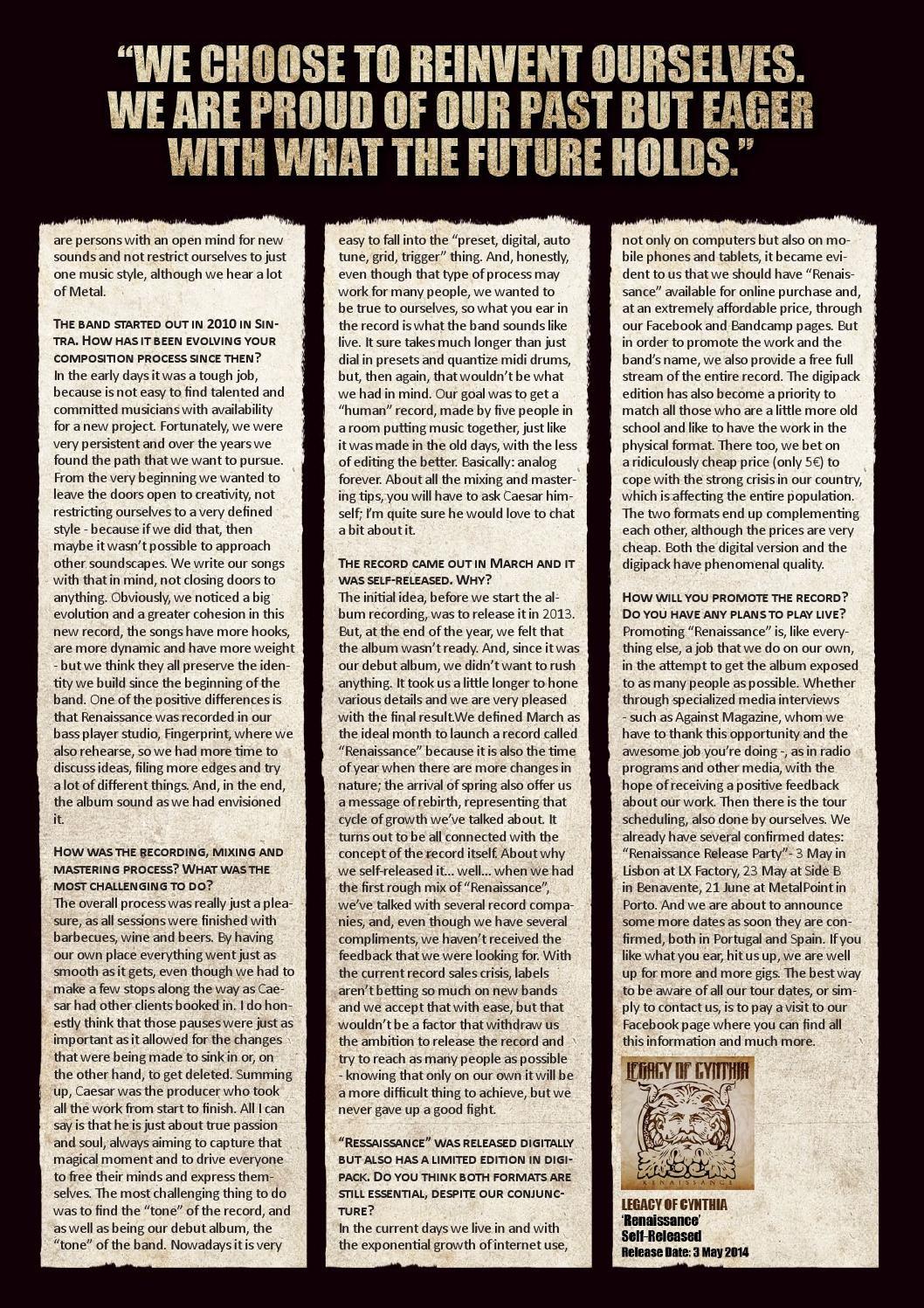 Against Magazine #8 (April 2014) by Against Magazine - issuu