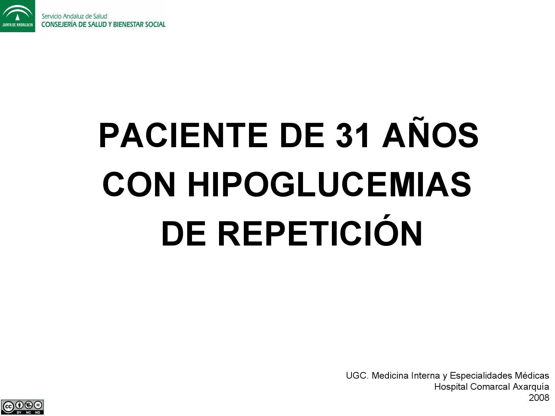 respuesta contrarreguladora a la hipoglucemia sin diabetes