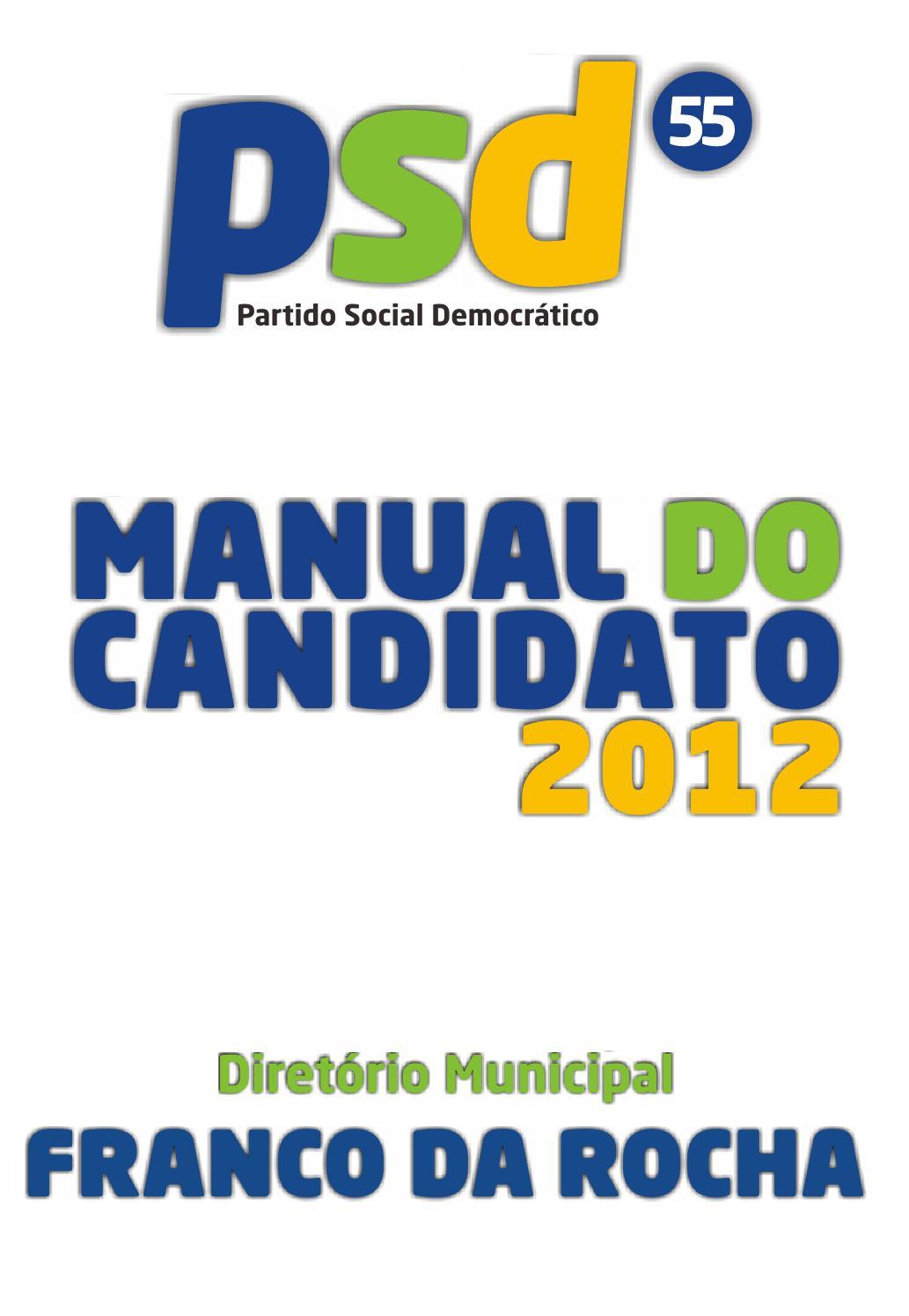 manual do candidato psd franco da rocha by toninho lopes