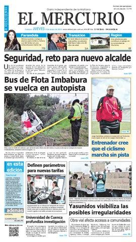 2f7ea9234 hemeroteca 08-05-2014 by Diario El Mercurio Cuenca - issuu
